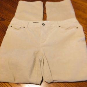 NWOT ST Johns Bay Corduroy Jeans size 16 B23